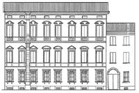 Prospetto Palazzo Tartagni Marvelli