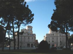 Piazzale Vitttoria-razionalismo